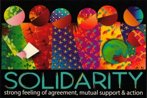 Solidarity - Postcard
