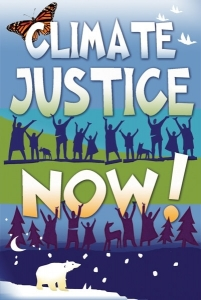 Climate Justice Now - Postcard