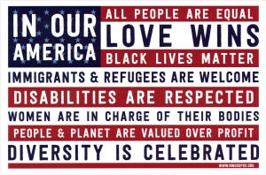In Our America... - Postcard