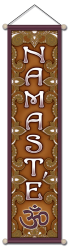 Namaste Om - Small Affirmation Banner