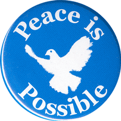 B0050 - Peace Is Possible - Button