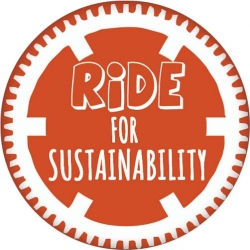 """Ride for Sustainability - Button (1.75"""")"""