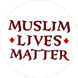 """Muslim Lives Matter - Button / Pinback (1.75"""")"""