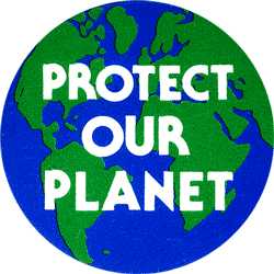 Protect Our Planet Button Peace Resource Project