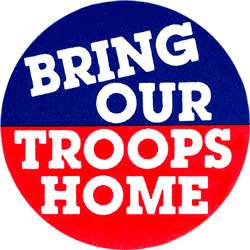 bring our troops home essay Pros and cons to bringing home the troops & how will obama change the real estate economy follow 8 neither senator wants to bring home the troops we cannot just pull out and bring our troops home.
