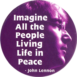 Imagine All The People Living Life In Peace John Lennon