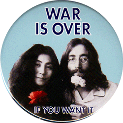 War Is Over If You Want It John Lennon And Yoko Ono