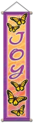 Joy Butterfly - Small Affirmation Banner