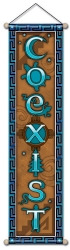 Coexist Nature - Small Affirmation Banner