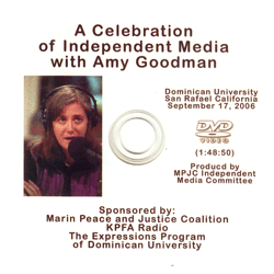 DVD166 - A Celebration of Independent Media with Amy Goodman DVD