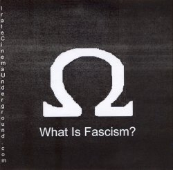 What Is Fascism? DVD