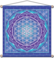 Flower of Life - Meditation Banner