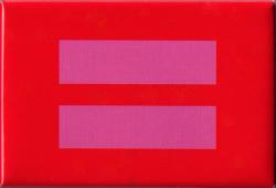 Equality Symbol - Rectangular Magnet