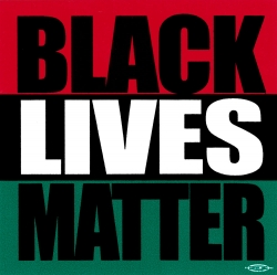 "Black Lives Matter - Small Bumper Sticker / Decal (3"" X 3"")"