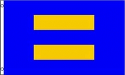 Human Rights Equal Sign Flag
