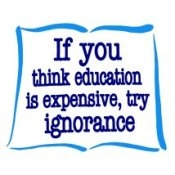 If You Think Education Is Expensive, Try Ignorance (On White) - T-Shirt