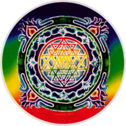Sri Yantra - Window Stickers