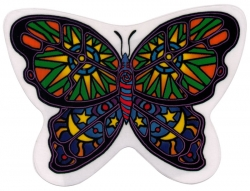 "Celestial Butterfly - Window Sticker / Decal (5"" X 4"")"
