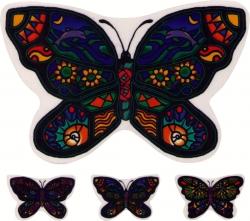 """Ocean Butterfly Multi-pack - Window Sticker / Decal (5"""" X 4"""")"""