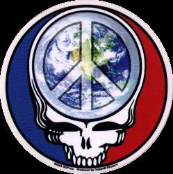 "Steal Your Peace - Grateful Dead - Window Sticker / Decal (5"" Circular)"