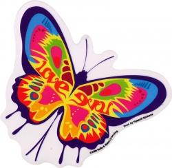 """Love Butterfly - Window Sticker / Decal (5.5"""" x 5"""")"""
