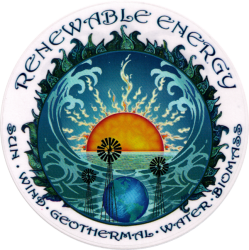 WA404 Renewable Energy - Window Sticker