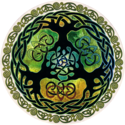 "World Tree - Window Sticker / Decal (4.5"" X 4.5"")"
