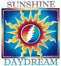 """Grateful Dead Sunshine Daydream - Window Sticker / Decal (5"""" X 5.5"""")"""