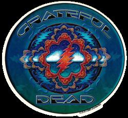 "Grateful Dead Space - Window Sticker / Decal (6"" X 5.5"")"