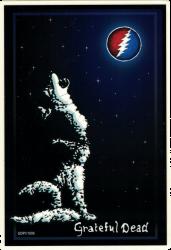 """Grateful Dead Wolf - Window Sticker / Decal (4.25"""" X 6.25"""")"""