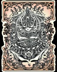 "Grateful Dead Aiko - Window Sticker / Decal (4.75"" X 6.5"")"