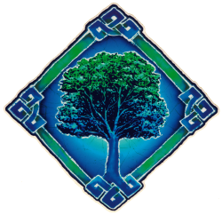 "Celtic Tree - Window Sticker / Decal (6"" X 6"")"