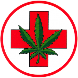 Medical Marijuana - Window Sticker