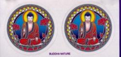 "Buddha Nature - Window Sticker / Decal (2.25"" X 2.25"" each)"
