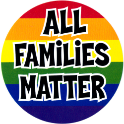 All Families Matter - Window Sticker