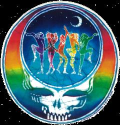 "Grateful Dead Dance Your Face - Window Sticker / Decal (5"" X 5.25"")"
