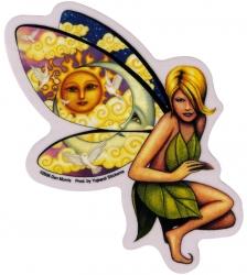 "Claudia Fairy - Window Sticker / Decal (4"" x 5"")"
