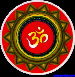 Om Mandala - Window Decal