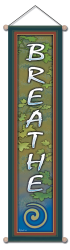 Breathe - Large Affirmation Banner