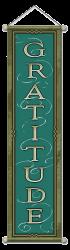 Gratitude - Large Affirmation Banner