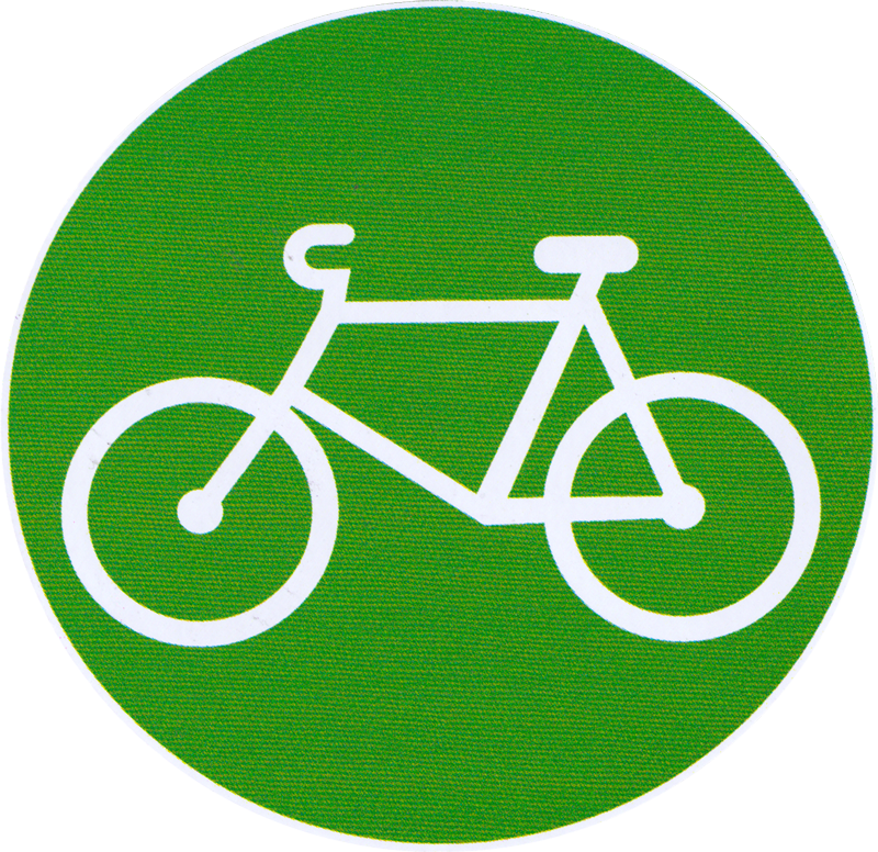 Bicycle Small Bumper Sticker Decal 3 Quot Circular