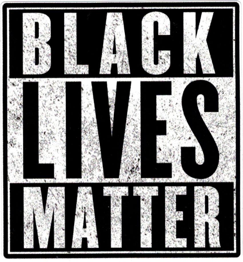Black Lives Matter Small Bumper Sticker Decal 3 5 Quot X