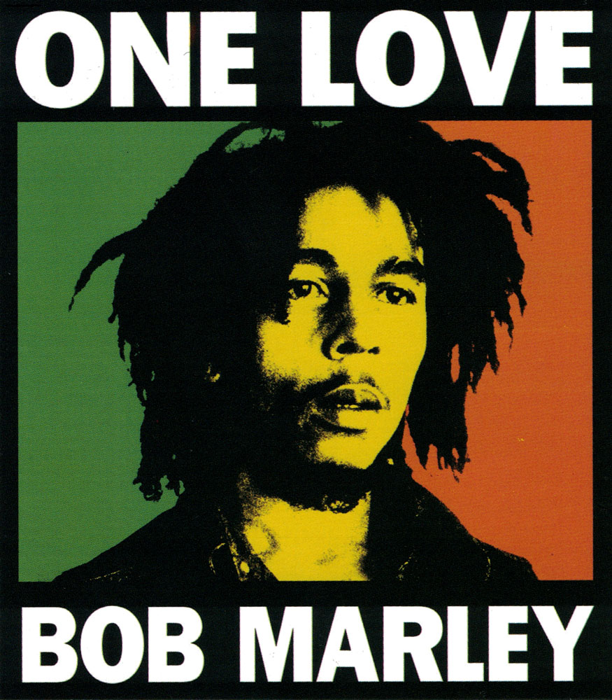 one bob marley bumper sticker decal 4 quot x 4 5 quot peace resource project