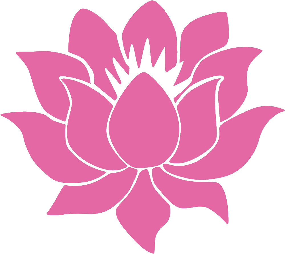 Lotus Flower Vinyl Cutout Rub On Sticker 425 X 375 Peace