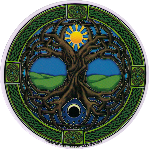 Tree Of Life Window Decal Peace Resource Project