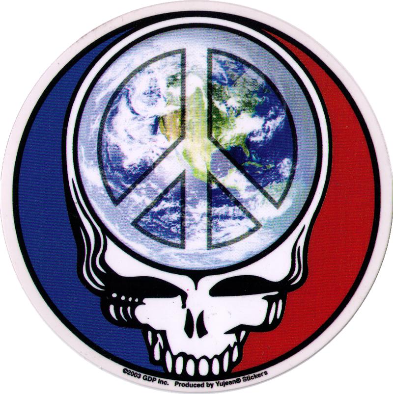Steal Your Peace Grateful Dead Window Sticker Decal 5