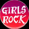 MG0541 - Girls Rock - Magnet