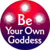 MG0824 - Be Your Own Goddess - Magnet