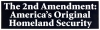 LS26 - The 2nd Amendment: America's Original Homeland Security - Bumper Sticker