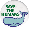 MG019 - Save The Humans - Magnet